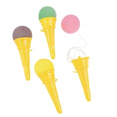 Ice Cream Cone Shooters, these will be the prizes for the games - OrientalTrading.com