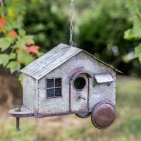 Happy Camper Bird House | Quinn's Mercantile