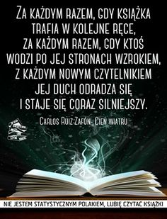W szponach literek: Wokół książek cz. 43 I Love Books, Books To Read, My Books, Forever Book, Important Quotes, Some Words, Life Is Beautiful, Book Lovers, Everything