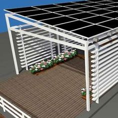 1000 images about solar awnings on pinterest solar for Solar panel blueprint