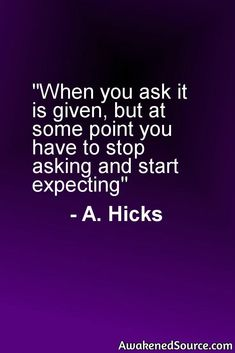 Read more on manifesting and Esther Hicks visit: http://awakenedsource.com