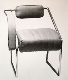 "Eileen Grey ""'Nonconformist"" chair   c. 1930s"