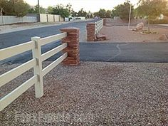 Driveway design ideas can easily come to life with faux stone or brick columns. Faux Brick, Brick And Stone, Residential Mailboxes, Dry Stack Stone, Brick Columns, Faux Panels, Driveway Design, Driveway Entrance, New City