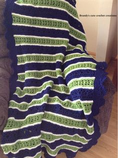 Crochet Throw blanket To order or see more items please visit https://www.facebook.com/Brandyscutecrochetcreation?ref=bookmarks