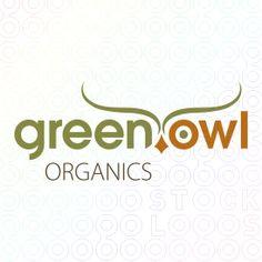 For Sale: Green Owl Organics logo