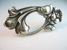 Hey, I found this really awesome Etsy listing at https://www.etsy.com/listing/85281150/art-nouveau-brooch-sterling-silver