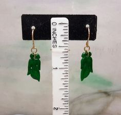 Jadeite natural color earrings,green jade earrings, red jade earrings, silver jade earrings, jade earrings Jade Earrings, Silver Earrings, Jade Green, Leaves, Dark, Natural, Red, Photos, Color