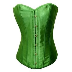 7cadd9f43a Chicastic Emerald Green Satin Sexy Strong Boned Corset Lace Up Bustier Top  - Small  Chicastic Emerald Green Satin Sexy Strong Boned Corset Lace Up  Bustier ...