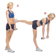 8 Lower Body Moves. Get a flat stomach and tight butt with these easy moves.
