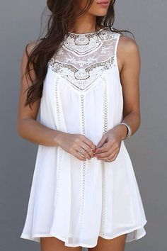 Frauen Sommer Kleider 2017 Sommer White Lace Mini Partykleider Sexy Club Casual … Women Summer Dresses 2017 Summer White Lace Mini Party Dresses Sexy Club Casual Vintage Beach Sun Dress Plus Size Look Fashion, Trendy Fashion, Womens Fashion, Fashion Design, Trendy Style, Dress Fashion, Fashion Clothes, Street Fashion, Fashion Trends