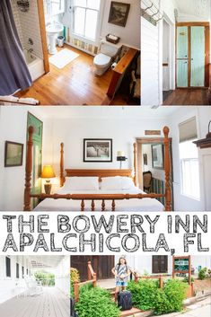 Our Stay at The Bowery Inn | Apalachicola, FL | OurLittleLifestyle Visit Florida, Florida Travel, Usa Travel, Travel Tips, Beautiful Places To Visit, Cool Places To Visit, Beautiful Hotels, Rustic Renovations, King Or Queen Bed