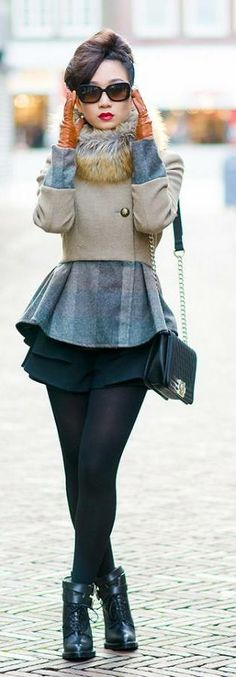 Fall/Winter Street Style | Liked by - http://www.chinasalessite.com  – Wholesale Women's Clothes,Wholesale Women's Wear & Accessories