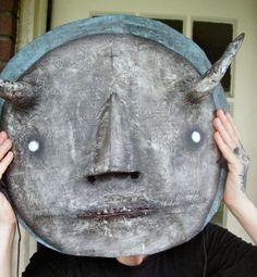 Paper Mache Mask.....