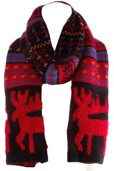 Infinity Scarf plaid red | THE LUCKY KNOT