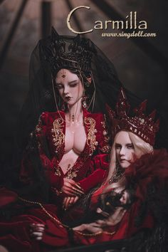 Carmilla, 68cm Ringdoll Girl - BJD Dolls, Accessories - Alice's Collections