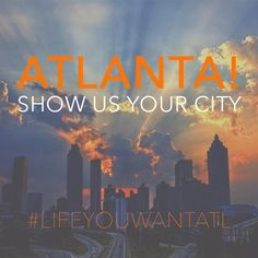 Atlanta! Show us what YOU love about your city using #LifeYouWantATL to be featured in our very first photo series! pic.twitter.com/cBN5Wrdnch