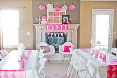 """Love this """"Ready to Pop"""" baby shower theme featuring Popcorn, Cake Pops and a Pop of color! #PampersPinParty"""