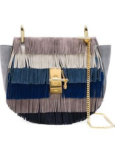 Shop Chloé 'Drew' fringed shoulder bag in Luisa World from the world's best independent boutiques at farfetch.com. Shop 300 boutiques at one address.