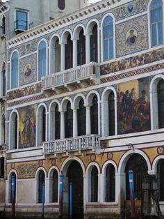 Palazzo Barbarigo, Venice, Italy