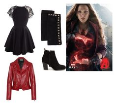 """""""Avengers age of ultron wonda"""" by ariel-2198 ❤ liked on Polyvore featuring Neiman Marcus, Nly Shoes and Balenciaga"""