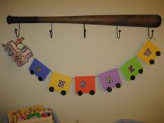 Toddler Approved!: Name Train Banner