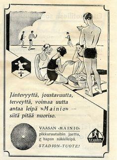 Vaasan Mainio-näkkileipä, 1931