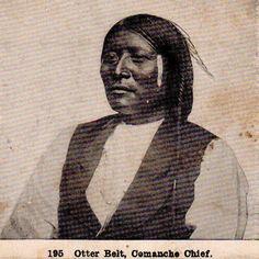 Paatsoko nehki (aka Otter Belt) - Kwahadi Comanche - circa 1872