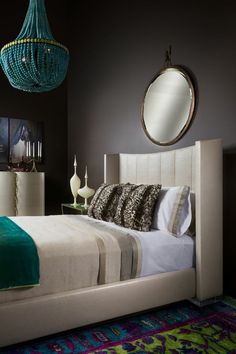 Raleigh Bed - Mid-Century / Modern Beds - Dering Hall