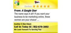 The name says it all!!  If you want your business to be marketing online, these women are...