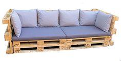 Padding-fr-range sofa-euro range-range upholstered cushions range Set - New Diy Balcony Pallet Couch, Wooden Pallet Furniture, Diy Furniture, Outdoor Furniture, Recycled House, Wooden Sofa Designs, Palette Diy, Bois Diy, Balcony Furniture