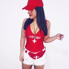 Lifeguard homemade costume