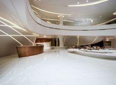 Greenland-Sales-Center-Zhengzhou-MRT-Design-6.jpg Iluminación en paredes q combinen con techos