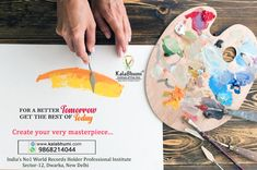 For the better tomorrow get the best of Today Kalabhumi Arts India's No 1 World Record Holder Professional Fine Arts Institute in Delhi Dwarka Professional Classes for Oil Painting Learn step by Step How t make oil Painting on the Canvas Lets canvas your though on the Canvas No Age Limit Get Special Attention for details call @9868214044 Oil Painting Techniques, Record Holder, Caricature Drawing, Tomorrow Will Be Better, World Records, Create Yourself, Age, Fine Art, Activities