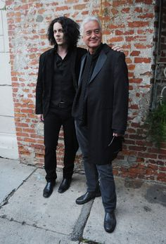 In case you have the incredible misfortune of not knowing who these men are...this is Jack White and Jimmy Page. The only 2 living legacy guitar players. Now go listen to their music close your eyes open your mind and enjoy. -your welcome