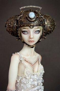 Escalofriantes muñecas de porcelana obra de Marina Bychkova