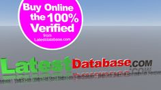 Its our latest top site #emaildatabase from latest database.If you want to know about our  company service, then you visit it..... http://www.latestdatabase.com/shopping-cart/
