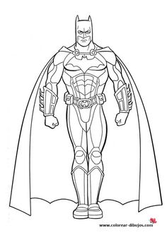Pictures Of Batman Coloring For Kids