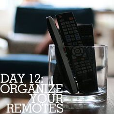 Cute ideas to organize your remotes