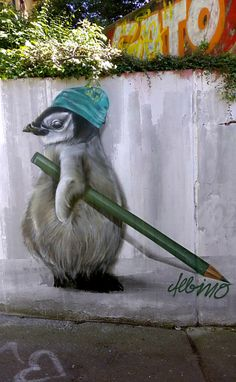 Street art by Albino
