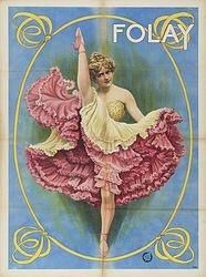 Vintage dance poster, inspiration for the October Party issue