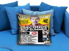 Luke Hemming 5 Second Of Summer Rock Sound  These soft pillowcase made of 50% cotton, 50% polyester.  It would be perfect to decorate your home by using our super soft pillow cases on sofa, chair, bench or bed.  Customizable pillow case is both comfortable and durable, improving the quality of your sleep with these comfortable pillow case, take it home now!  Custom Zippered Pillow Cases available in 7 different size (16″x16″, 18″x18″, 20″x20″, 16″x24″, 20″x26″, 20″x30″, 20″x36″)