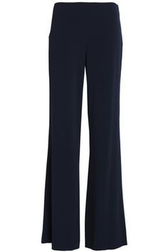 Crepe-satin wide-leg pants | DIANE VON FURSTENBERG | Sale up to 70% off | THE OUTNET