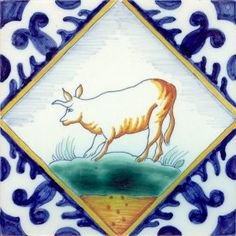 we also have these colorful antique tiles in our collection