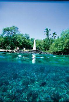 Kealakekua Bay - 7 Things to See And Do On The Big Island, Like a Real Hawaiian!