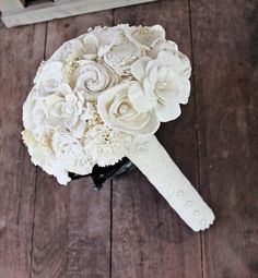 bouquet in all ivory