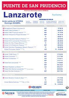 Lanzarote -Especial Puente de San Prudencio- salida 26 Abril desde Vitoria ultimo minuto - http://zocotours.com/lanzarote-especial-puente-de-san-prudencio-salida-26-abril-desde-vitoria-ultimo-minuto/