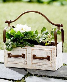 Turn your potted plants into a charming display with this Rustic Wall Planter. White Planter Boxes, White Planters, Wall Planters, Concrete Planters, Hanging Planters, Rustic Flowers, Faux Flowers, Colorful Flowers, Rustic Planters