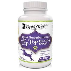 Glucosamine for Dogs Hip and Joint Supplement With MSM Chondroitin and Vitamin C Down Syndrome Dog, Best Glucosamine For Dogs, Tip Top, Arthritis Pain Relief, Hip Dysplasia, Dog Supplies, Natural Flavors, Vitamins, Pills