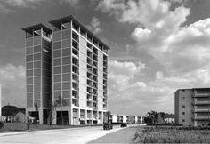 HICOG Housing Development |1949-52| Bonn-Bad Godesberg, Germany | Sep Ruf & Otto Apel