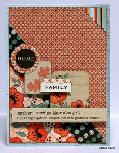 """love the """"Gathering"""" Collection paper by Authentique Paper"""